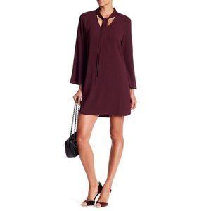Chelsea28 Nordstrom Burgundy Mini Dress Size Small
